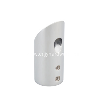 Shower bar support tube connector fittings